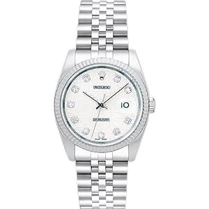 【クリックで詳細表示】[ロレックス]ROLEX 腕時計 デイトジャスト 116234G シルバー彫りコンピューター 10Pダイヤ メンズ [並行輸入品]: 腕時計通販