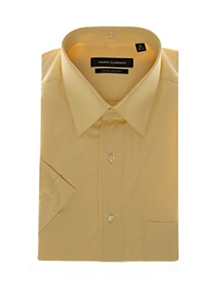 Pierre Clarence Camisa de manga corta (Amarillo)