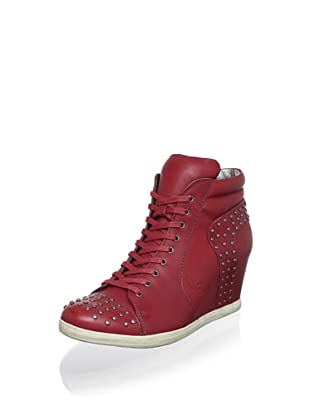 Koolaburra Women's Kenny Fashion Sneaker (Red)