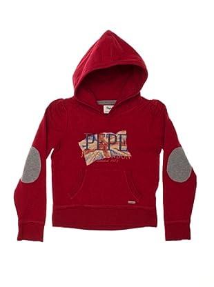 Pepe Jeans London Sudadera Twila (Rojo)