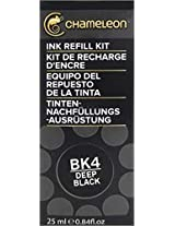 Chameleon Ink Refill 25ml Deep Black - BK4