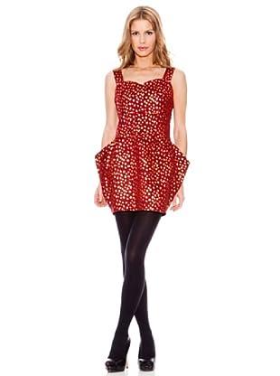 Rare Vestido Leopardo (Rojo)