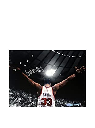 Steiner Sports Memorabilia Patrick Ewing Signed Arms Out Facing Crowd Photo