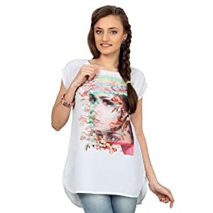 short sleeved graphic printed t-shirt