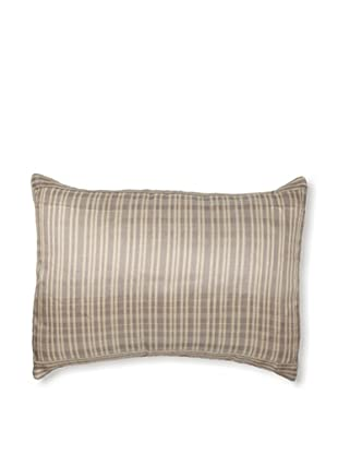 Belle Epoque Sand Grains Sandy Pillow, Cream/Grey, 12x16