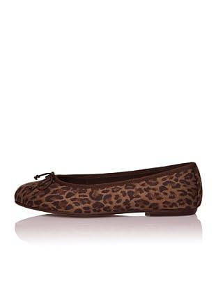 Bisué Bailarinas Leopardo (Marrón)