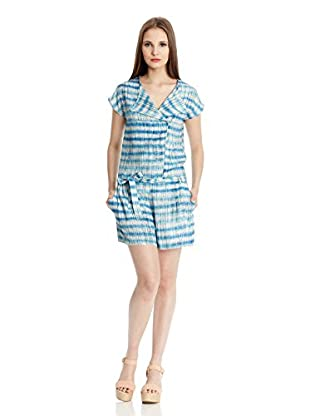 Blueberry Overall Kelly H Stripes