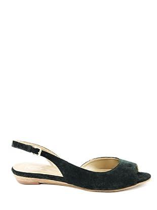 Eye Shoes Sandalias Bajas (Verde Oscuro)