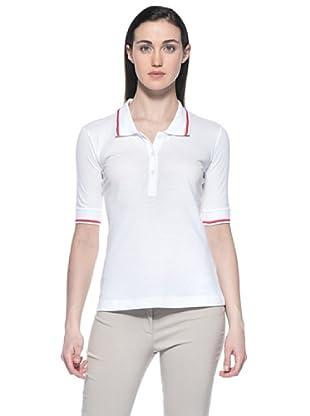 Ferré Polo Abrielle (Blanco / Rojo)