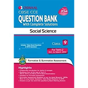 Oswaal CBSE CCE Question Bank with Complete Solutions: Social Science for Class 9 Term II
