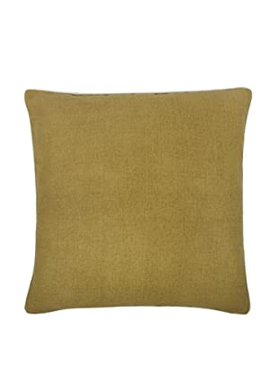Thomas Paul Solid Feather Pillow, Ochre