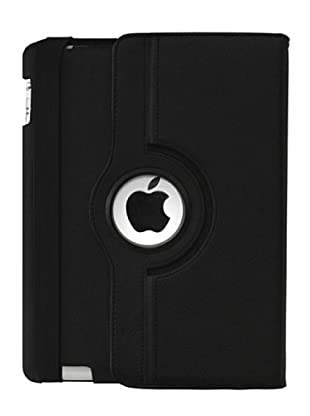Blautel iPad 2 Funda Stand Rotatoria Negro