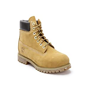 6 inch Premium Yellow Boots