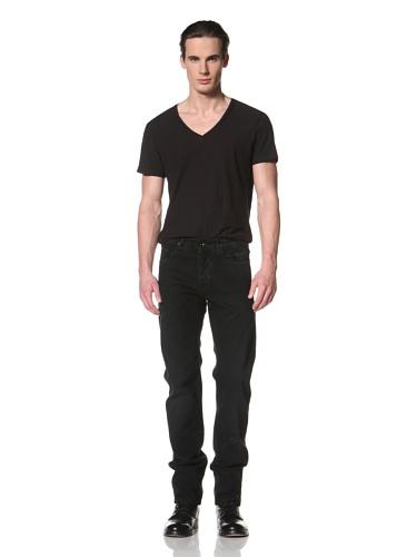 Rick Owens DRKSHDW Men's Berlin Cut Pant (Triple Black)