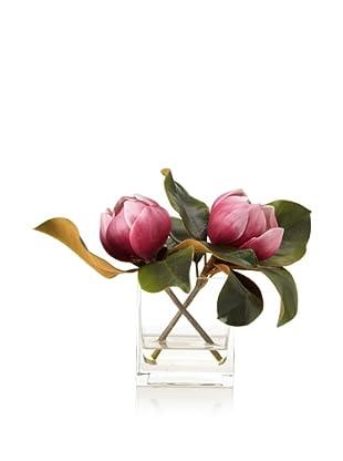 Winward Magnolia In Square Vase