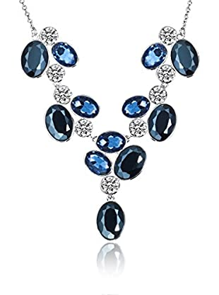 Saint Francis Crystals Halskette blau