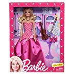 Mattel Barbie Doll With Violin - X3494