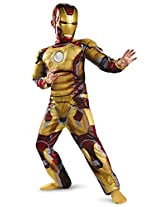 Marvel Iron Man Mark 42 Classic Muscle Child Costume Ironman Outfit