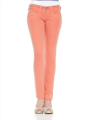 Pepe Jeans London Pantalón Venus (Naranja Claro)