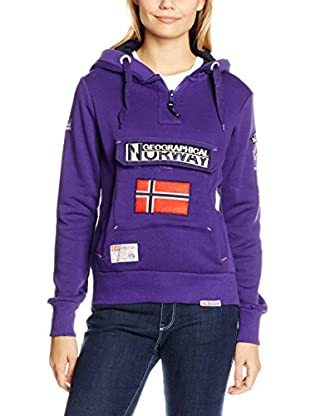 GEOGRAPHICAL NORWAY Kapuzensweatshirt Sweatmolletoneecapuchezippecotonwn