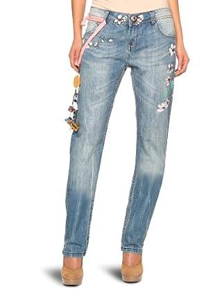 Desigual Pantalón vaquero 20D2677 (Azul)