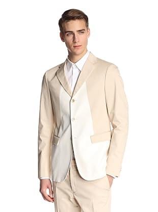 Jil Sander Men's Adele Jacket Drop 8 Slim Fit (Cream)