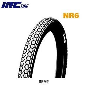 【クリックで詳細表示】IRC(アイアールシー)井上ゴムバイクタイヤ NR6 リア 2.50-17 4PR チューブタイプ(WT) 329108 二輪 オートバイ用