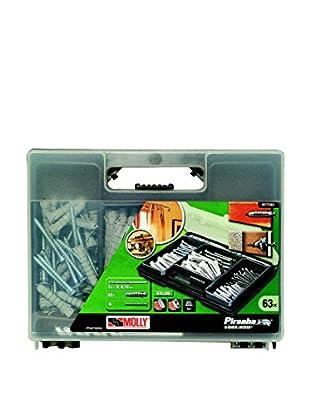 Black & Decker Set Utensilios 63 Piezas M77063-XJ Negro / Verde / Transparente