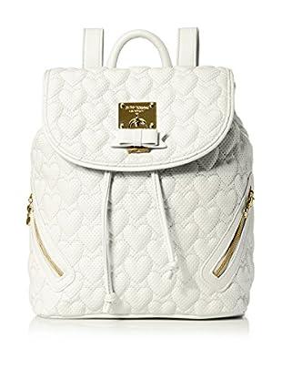 Betsey Johnson Women's Always Be Mine Backpack, White