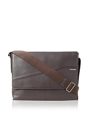Calvin Klein Men's Messenger Bag (Brown)