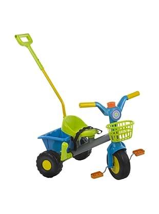 Kidzcorner Triciclo volquete con cesta y mango