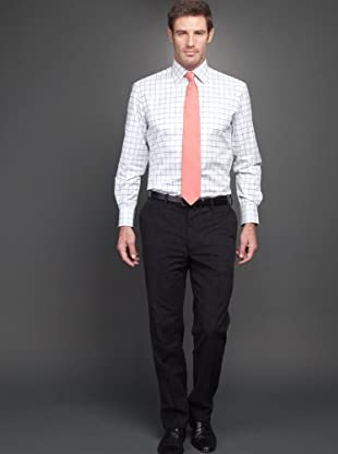 Arrow Camisa (blanco / azulón)