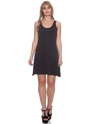 Santa Barbara Vestido Costura (Gris Oscuro)