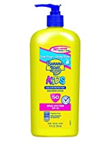 Banana Boat Kids Spf 50 Family Size Sunscreen Lotion, 12-Fluid Ounce