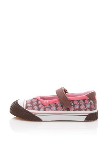umi Lauren Mary Jane Sneaker (Toddler/Little Kid) (Chocolate Paisley)