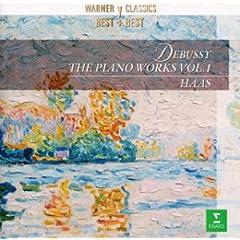 モニク・アース(P)  ドビュッシー:ピアノ作品全集第1集の商品写真
