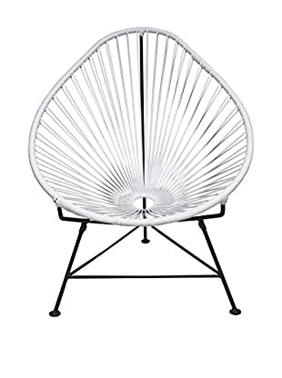 Innit Designs Acapulco Chair, White/Black