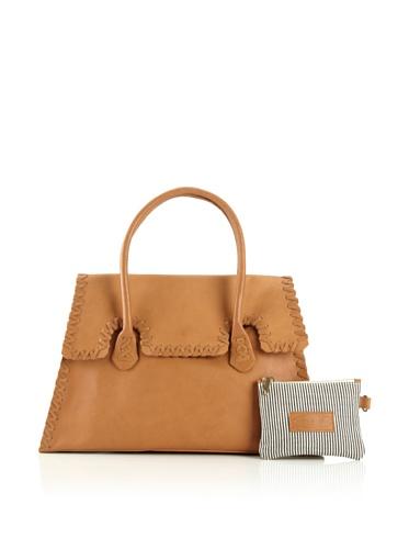 Jamie Young Handbags Women's Whipstitch Handbag (Buff Leather)