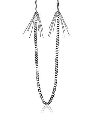 Dyrberg/Kern Kette Chainel Shiny Silver silberfarben