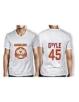 Anger Beast Gayle Bangalore White Sweat Free T shirt B GAY 00