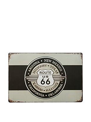 Lo+Demoda Wandbild Vintage Old Route 66