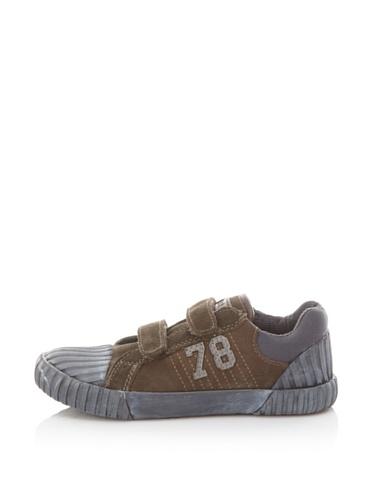 Diesel Kids Sportposh Swanky Strap Sneaker (Grey)