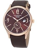 Stuhrling Original Men's 171D.3345K59 Classic Cuvette Infinity Automatic Date Watch