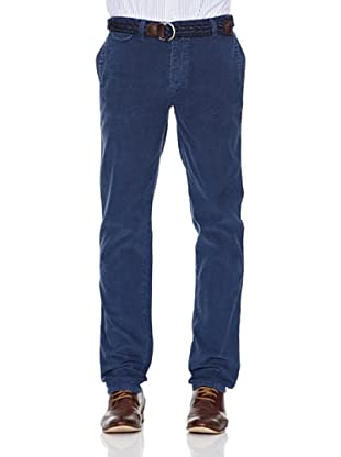 Pepe Jeans London Pantalón Adelphi (Azul Índigo)