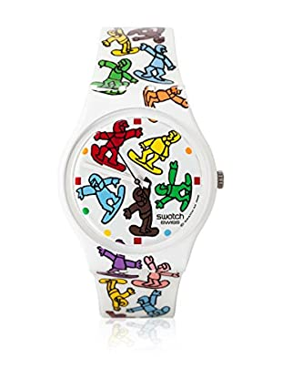Swatch Quarzuhr Unisex Unisex BIG RIDE GZ201 34.0 mm
