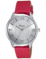 Kimio Analog Silver Dial Women's Watch - KW528M-S0114
