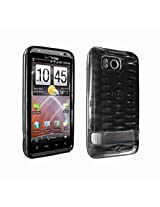 Verizon Htc Thunderbolt 6400 High Gloss Silicone Case Cover Black New Oem Verizon [Retail Packaging]