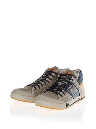 Merrell RANT MID J39287 Herren Sneaker (Mehrfarbig (ALUMINUM/NAVY J39287))