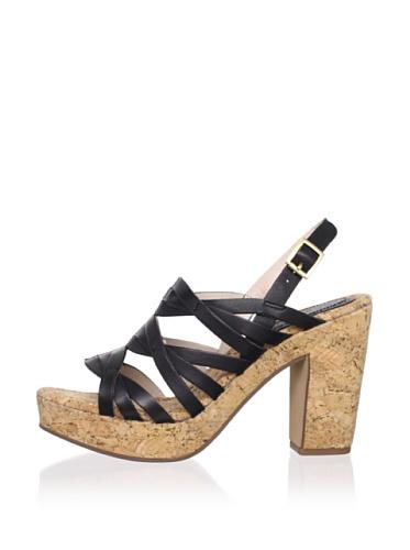 Rosegold Women's Tacey Slingback Sandal (Black)
