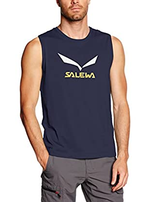 Salewa Tanktop Solidlogo Co M